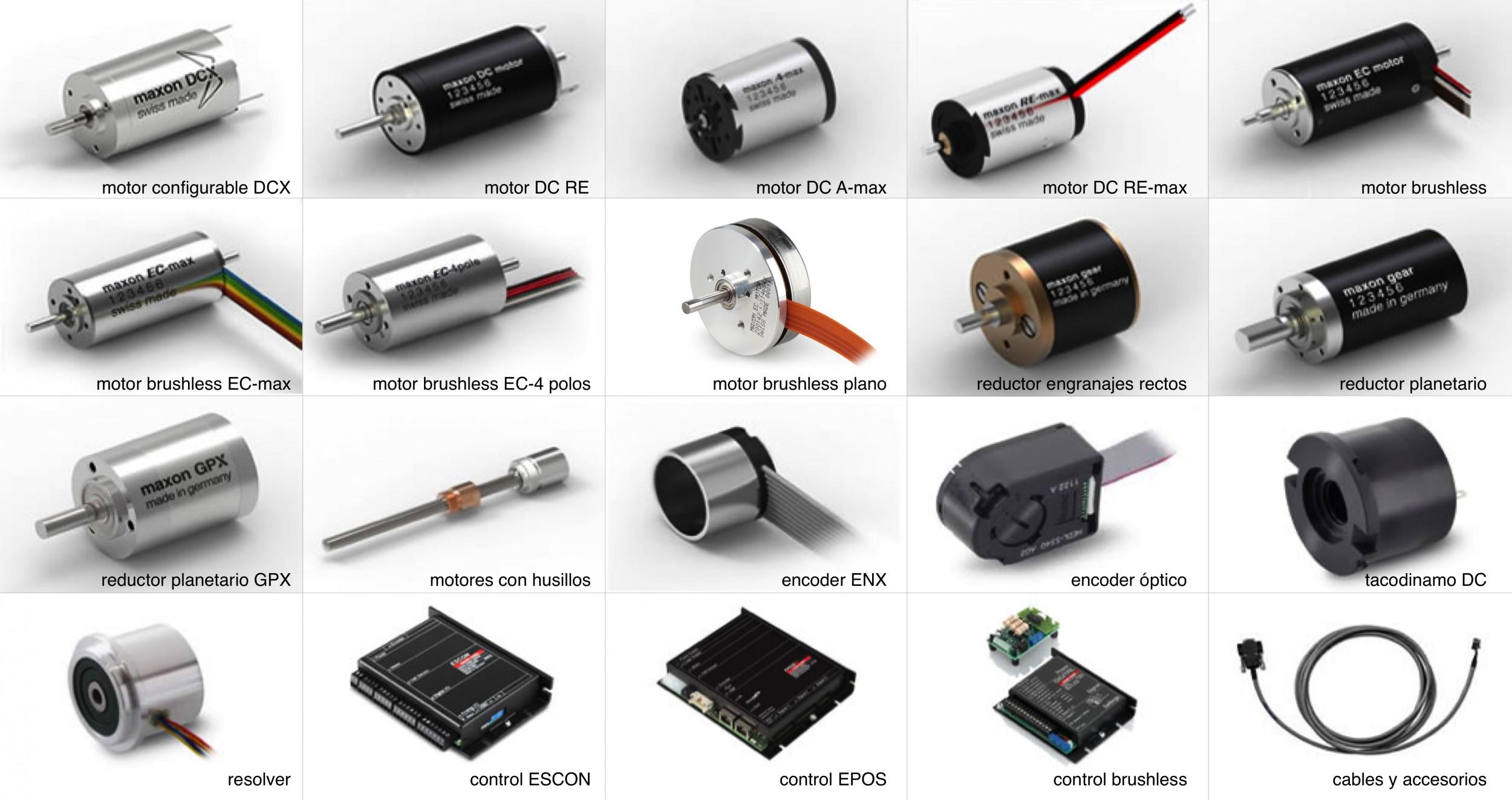 motores dc y motores brushless